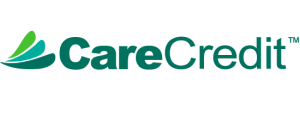 A green logo for CareCredit Healthcare Financing