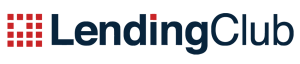 Lending Club logo in red and dark blue