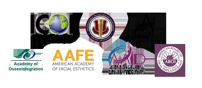 ICOI | International Dental Implant Association | ACD | AAFE | AAID